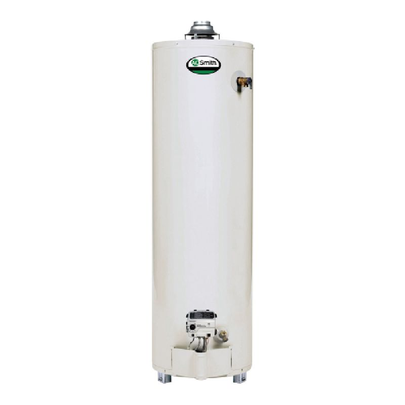 A.O. Smith ProMax Ultra-Low NOx 40,000 BTU 40 Gal Residential Natural Gas Water Heater