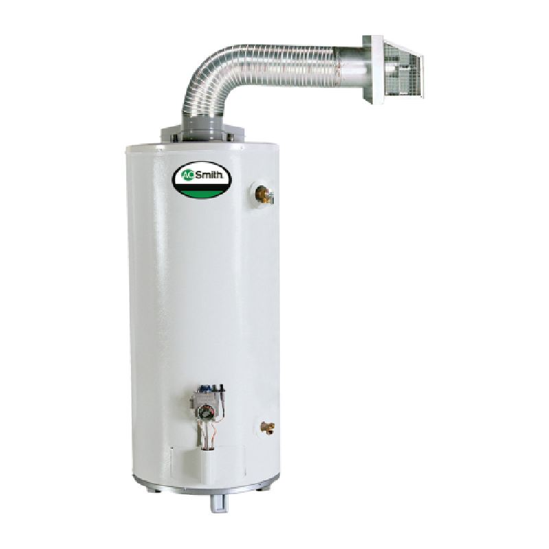 A.O. Smith ProMax Direct Vent 37,000 BTU 40 Gal Residential LP Gas Water Heater