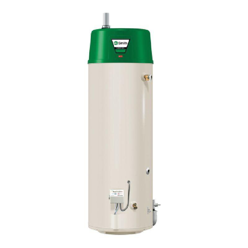 A.O. Smith Vertex Power Vent 76,000 BTU 50 Gal Residential High Efficiency Power Vent Natural Gas Water Heater