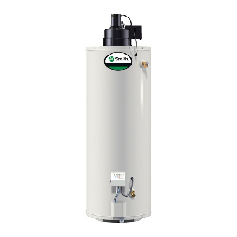 A.O. Smith ProMax Power Vent 50,000 BTU 50 Gal Residential Natural Gas Water Heater