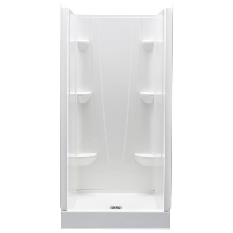 3232CS-AW - A2 32in x 32in x 76in Shower Unit with Center Drain