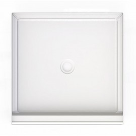 A2 36in x 36in Shower Base with Center Drain, Designed for Tile/Wall Applications