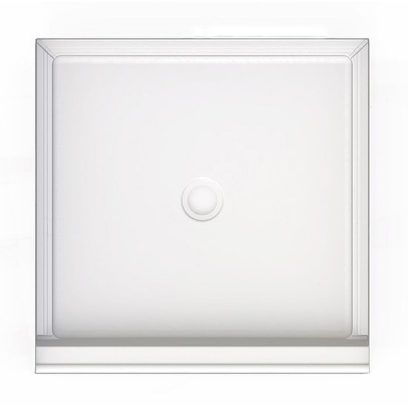 3636CPANNS-M - A2 36in x 36in Shower Base with Center Drain, Designed for Tile/Wall Applications