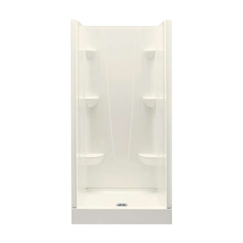 3636CS-BI - A2 36in x 36in x 76in Shower Unit with Center Drain