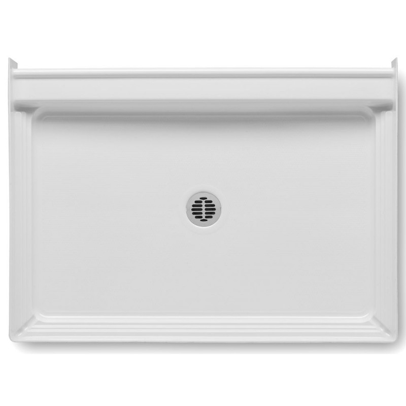 4834CPANNS-AW - A2 48in x 34in Shower Base with Center Drain, Designed for Tile/Wall Applications