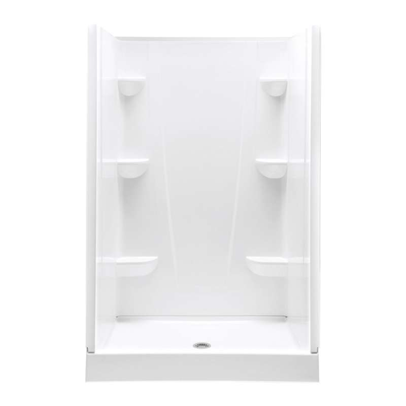 4834CS-AW - A2 48in x 34in x 76in Shower Unit with Center Drain