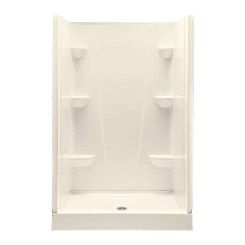 4834CS-BI - A2 48in x 34in x 76in Shower Unit with Center Drain
