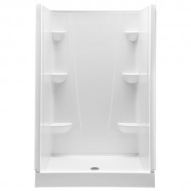 4834CS - A2 48in x 34in x 76in Shower Unit with Center Drain