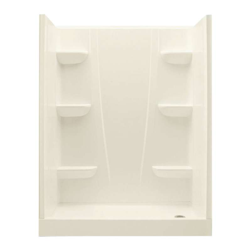 6030CSR-BI - A2 60in x 30in x 76in Shower Unit with Right Hand Drain