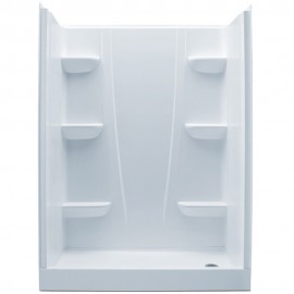 6030CSL - A2 60in x 30in x 76in Shower Unit with Left Hand Drain