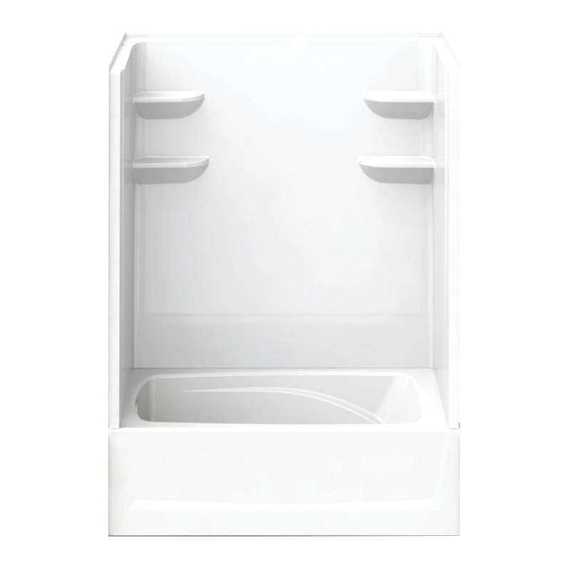 6036CTS2L-AW - A2 60in x 36in x 79in Tub-Shower Unit with Left Hand Drain