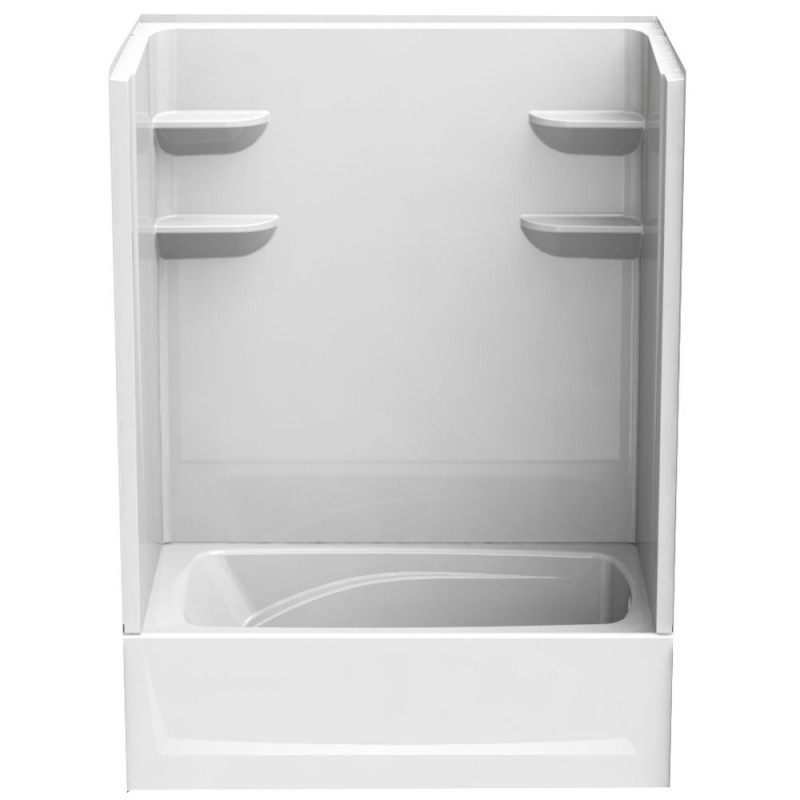 6036CTS2L - A2 60in x 36in x 79in Shower Unit with Left Hand Drain