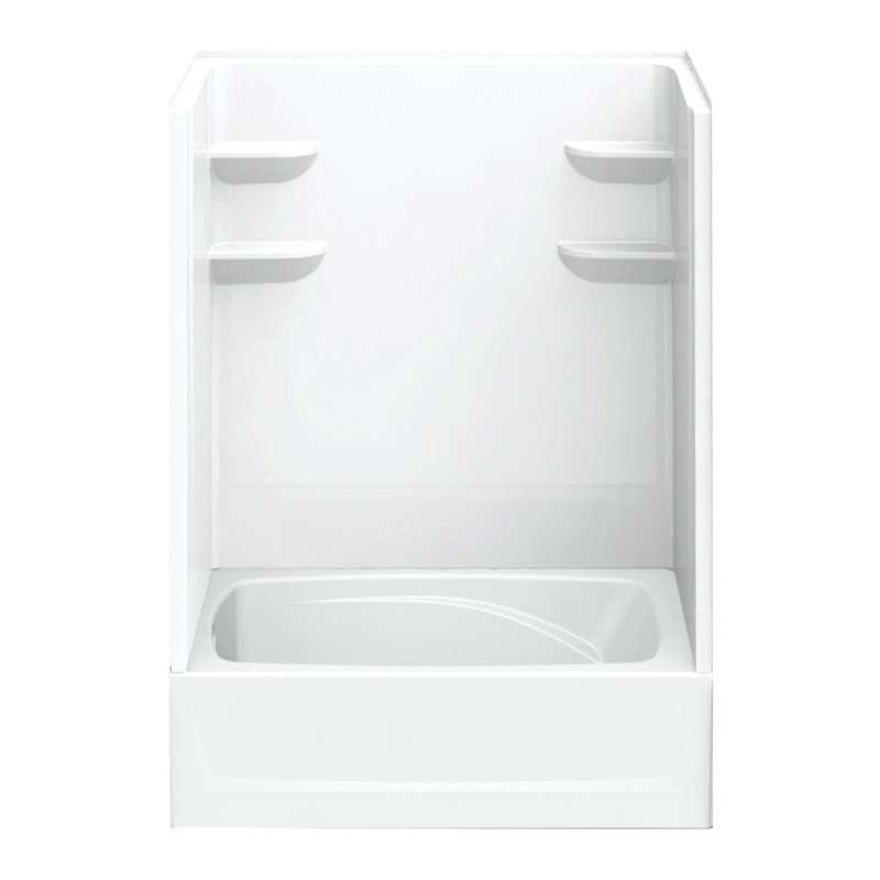 6042CTS2L-AW - A2 60in x 42in x 79in Tub-Shower Unit with Left Hand Drain