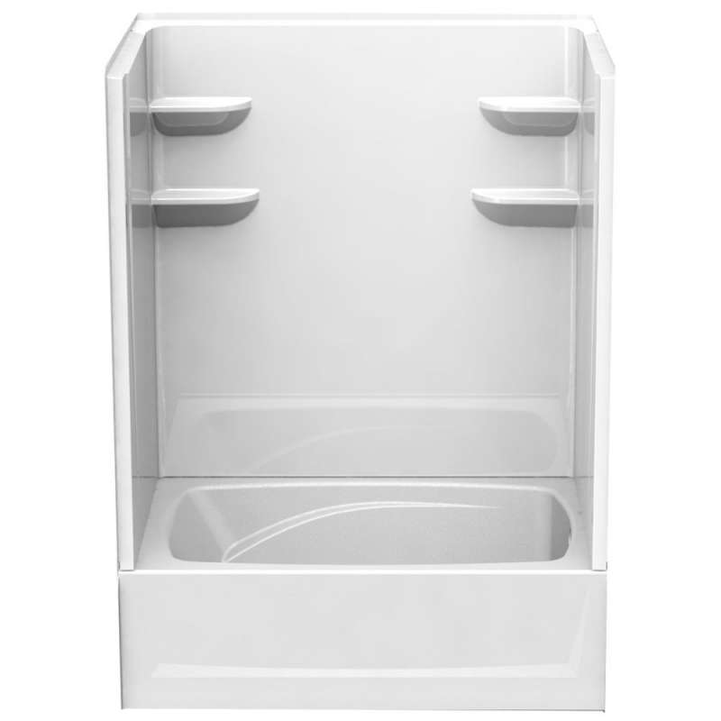 6042CTS2L - A2 60in x 42in x 79in Shower Unit with Left Hand Drain