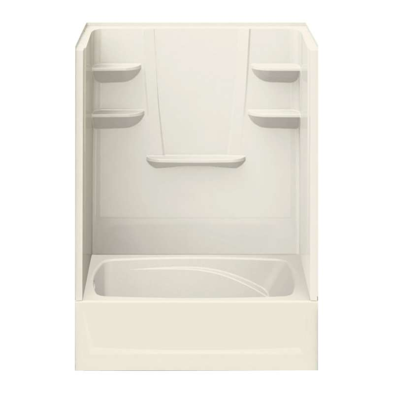 6042CTSL-BI - A2 60in x 42in x 79in Tub-Shower Unit with Left Hand Drain