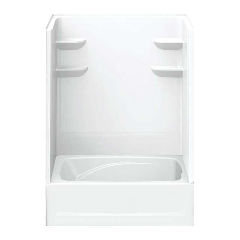 6042CTSM2R-AW - A2 60in x 42in x 82in Tub-Shower Unit with Right Hand Drain