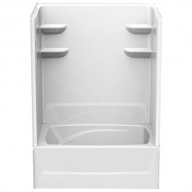 6042CTSM2R - A2 60in x 42in x 82in Shower Unit with Right Hand Drain