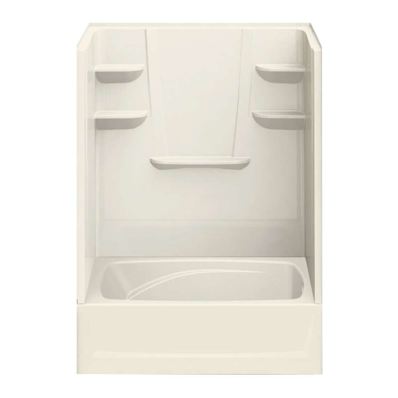 6042CTSR-BI - A2 60in x 42in x 79in Tub-Shower Unit with Right Hand Drain