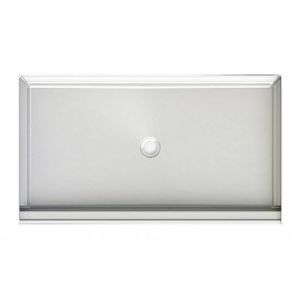 A2 60in x 34in Shower Base with Center Drain, Designed for Tile/Wall Applications