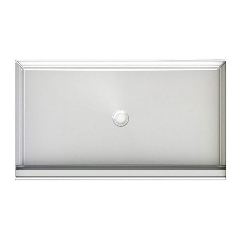 6034CPANNS - A2 60in x 34in Shower Base with Center Drain, Designed for Tile/Wall Applications