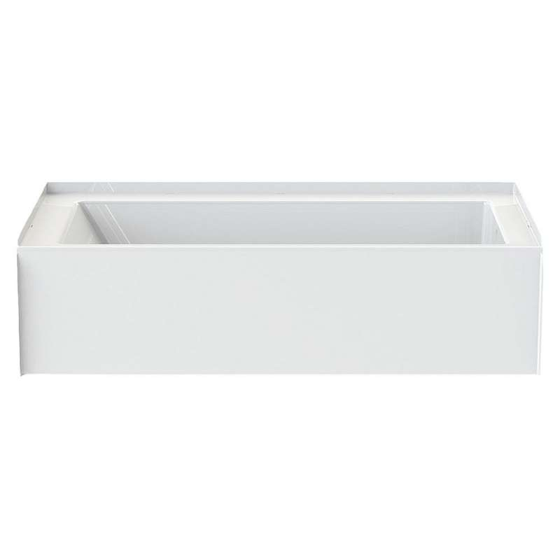 6030CTMINL-AW - A2 60in x 30in Soaking Bathtub with Left Hand Drain