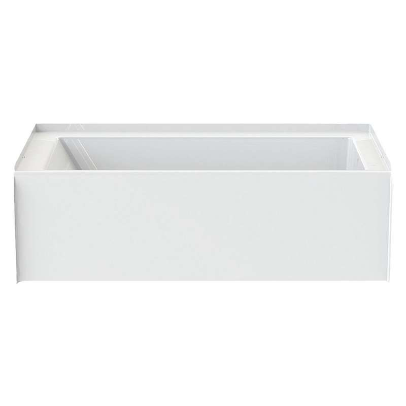 6032CTMINL-AW - A2 60in x 32in Soaking Bathtub with Left Hand Drain