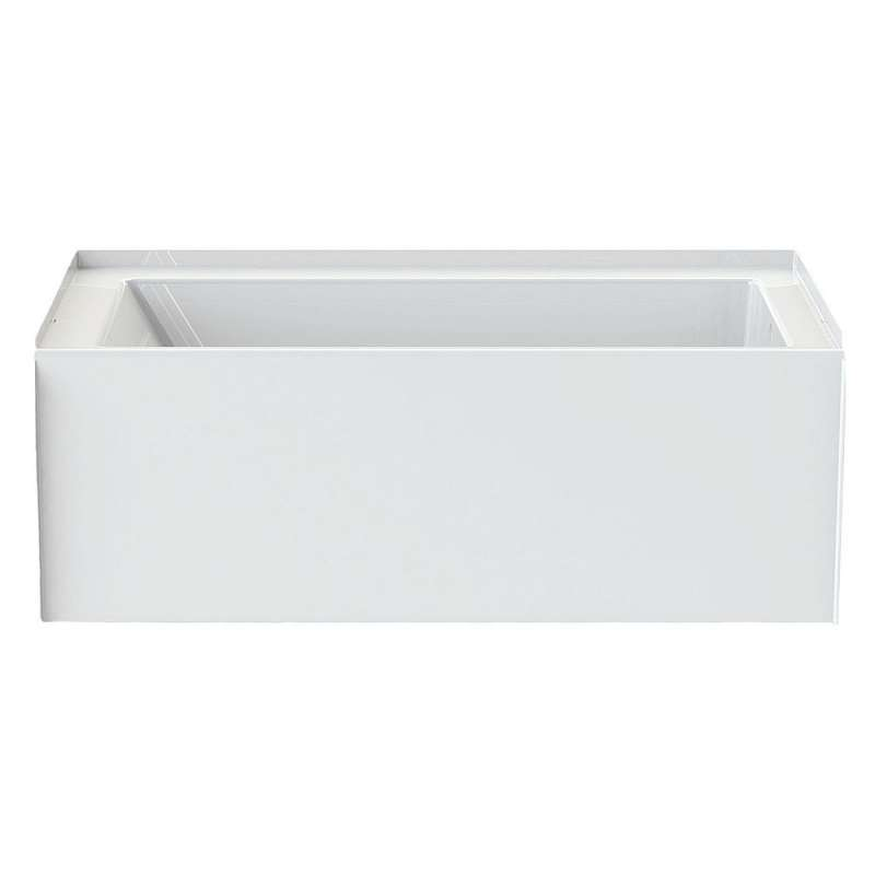 6032CTMML-AW - A2 60in x 32in Soaking Bathtub with Left Hand Drain