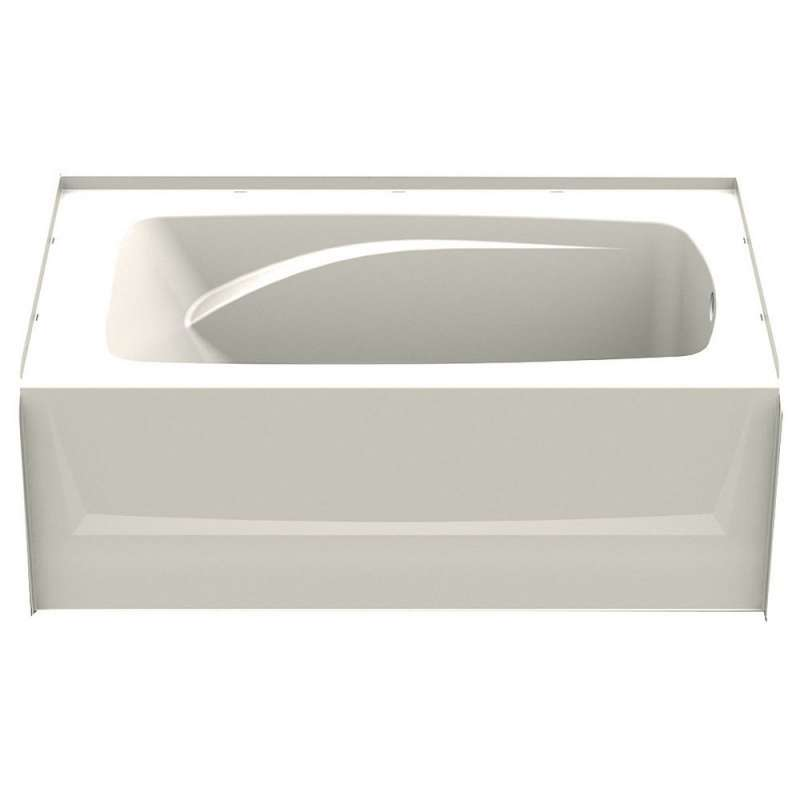 6036CTR-BI - A2 60in x 36in Soaking Bathtub with Right Hand Drain