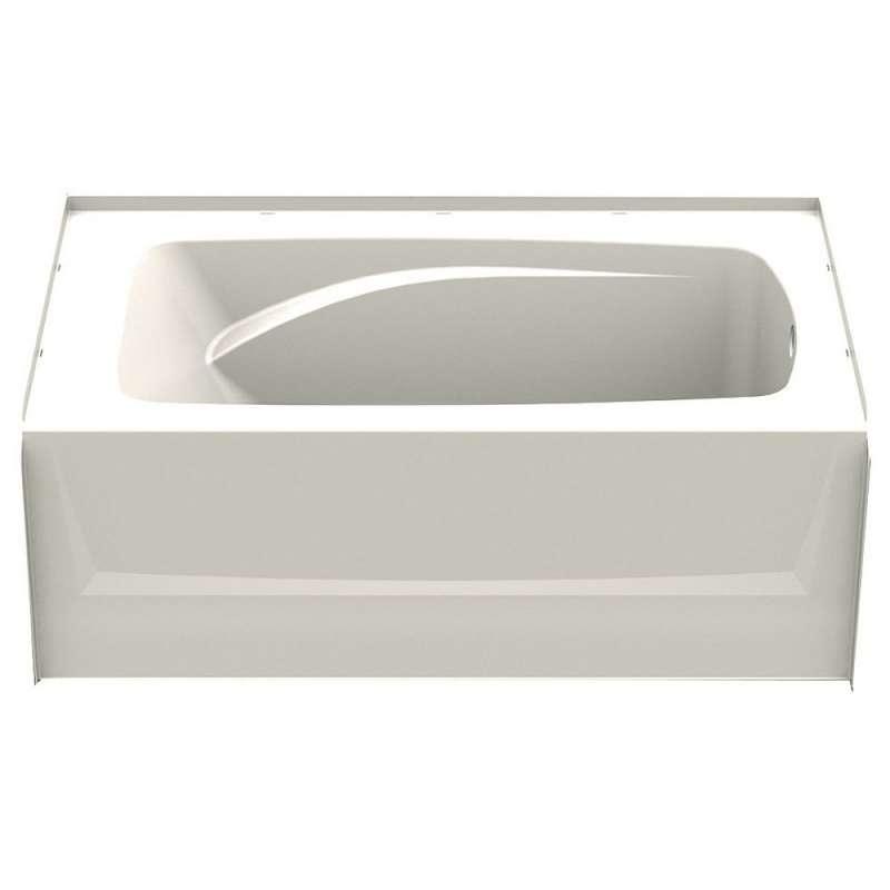 6036CTL-BI - A2 60in x 36in Soaking Bathtub with Left Hand Drain