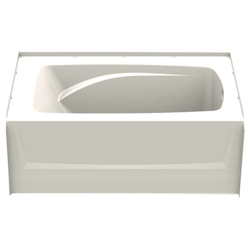 6036CTMR-BI - A2 60in x 36in Soaking Bathtub with Right Hand Drain