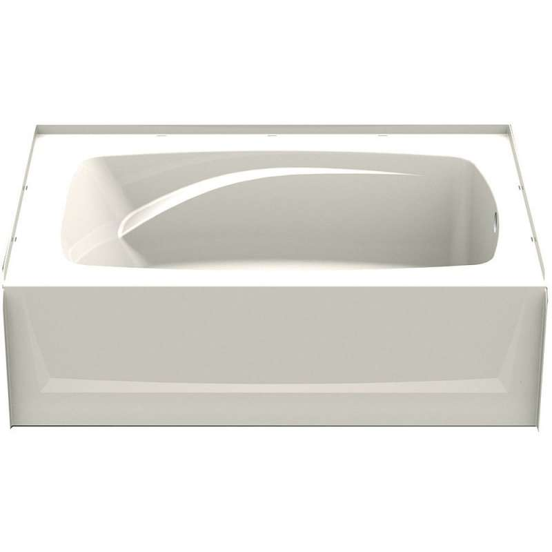 6042CTL-BI - A2 60in x 42in Soaking Bathtub with Left Hand Drain