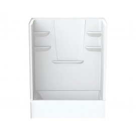 6030CTSMIN - A2 60in x 30in x 76in Tub-Shower Unit with Left Hand Drain