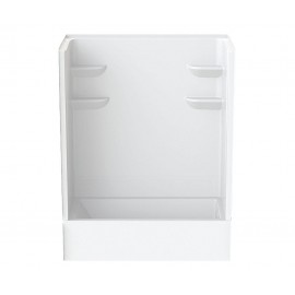 6030CTSMIN2 - A2 60in x 30in x 76in Tub-Shower Unit with Left Hand Drain