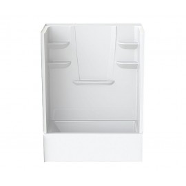 6032CTSMM - A2 60in x 32in x 82in Tub-Shower Unit with Left Hand Drain