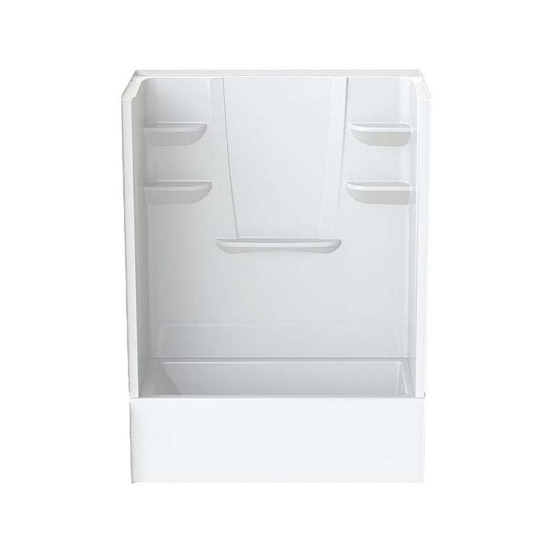 6032CTSMML-AW - A2 60in x 32in x 82in Tub-Shower Unit with Left Hand Drain
