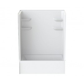 6032CTSMM2 - A2 60in x 32in x 82in Tub-Shower Unit with Left Hand Drain
