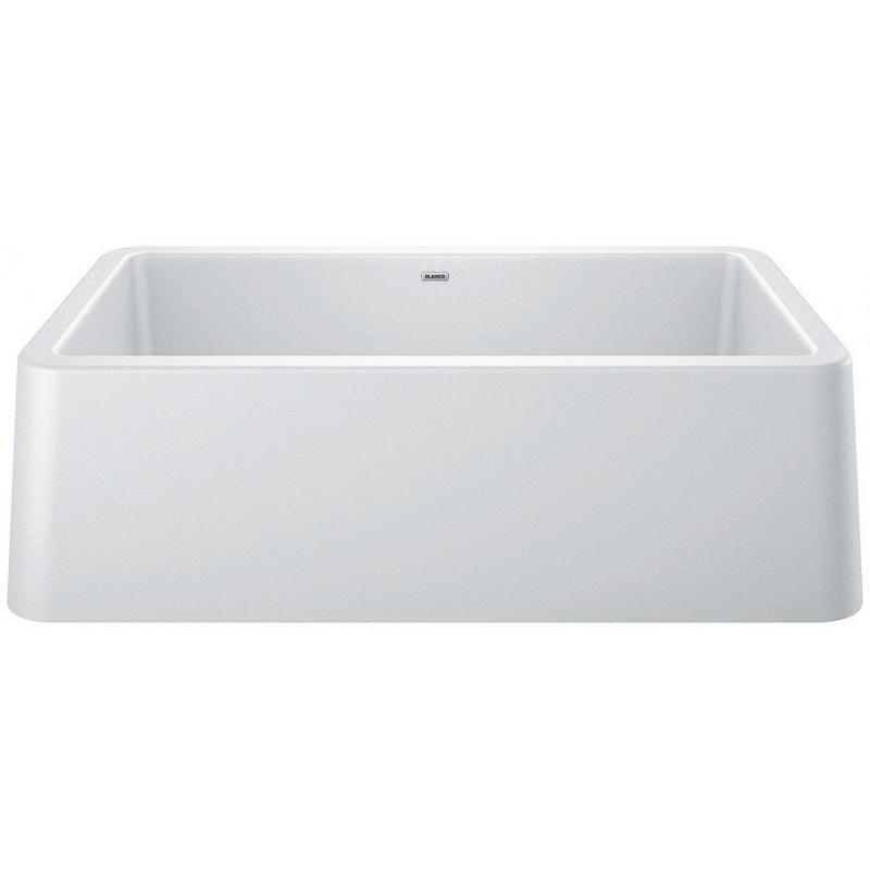 Blanco Ikon 30-In Apron-Front Silgranit Kitchen Sink