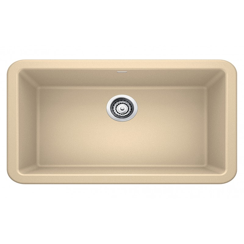Blanco Ikon 19-In X 33-In Granite 10-In Kitchen Sink