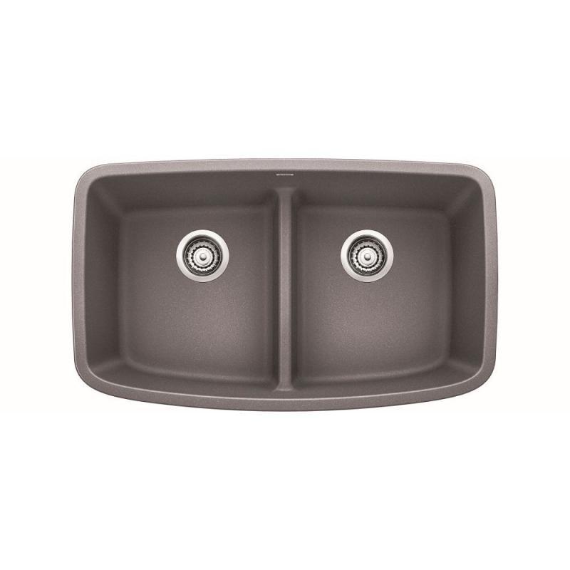 Blanco Valea 19-In X 32-In Granite Kitchen Sink