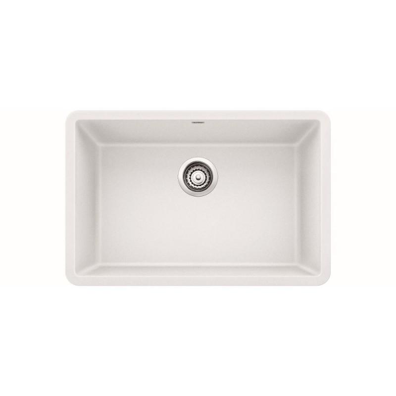 Blanco Precis 17.75-In X 26.8125-In Granite Kitchen Sink