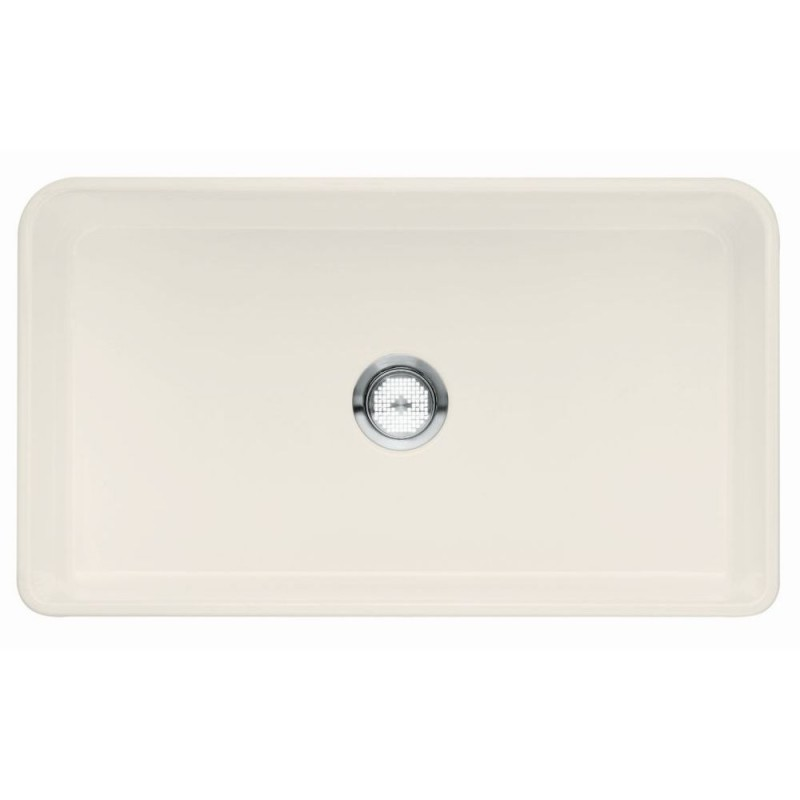 Blanco Cerana II 19-In X 33-In Fireclay Kitchen Sink