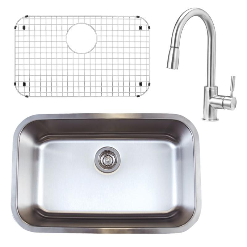 Blanco Stellar 18-In X 28-In Kitchen Sink Kit