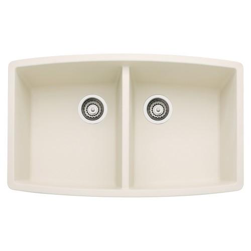 Blanco Performa 20-In X 33-In Double-Basin Granite Undermount Kitchen Sink