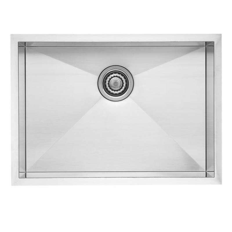 Blanco Quatrus 18-In X 22-In 18-Gauge Kitchen Sink