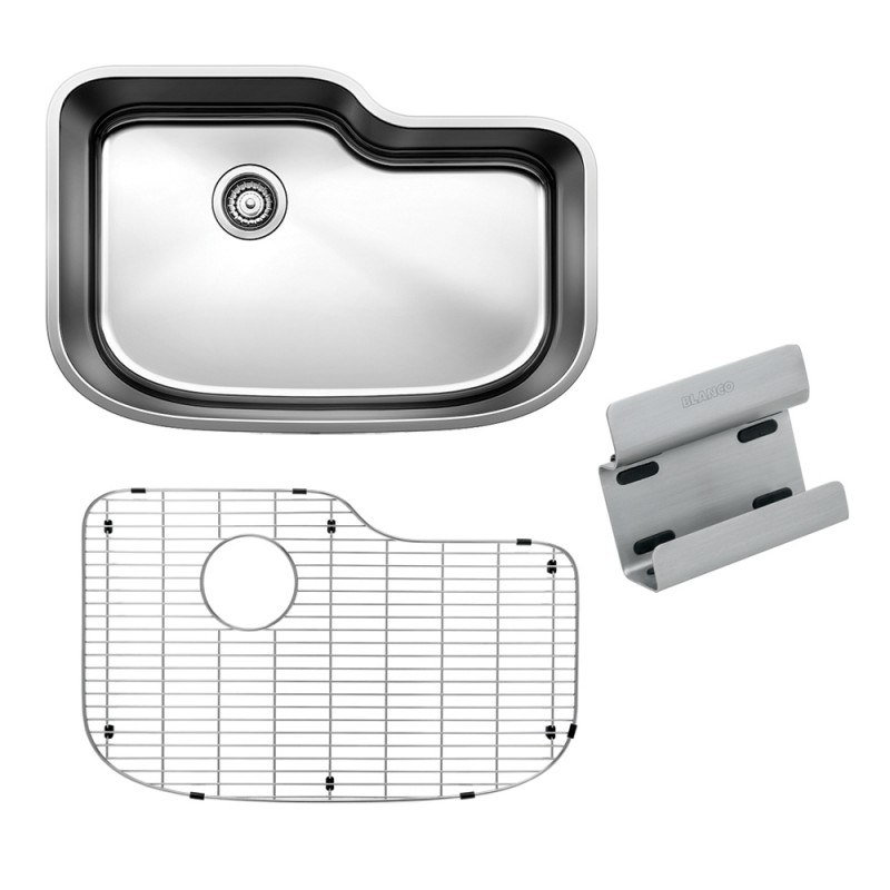 Blanco One 30-In X 20-In Single-Basin Undermount Kitchen Sink