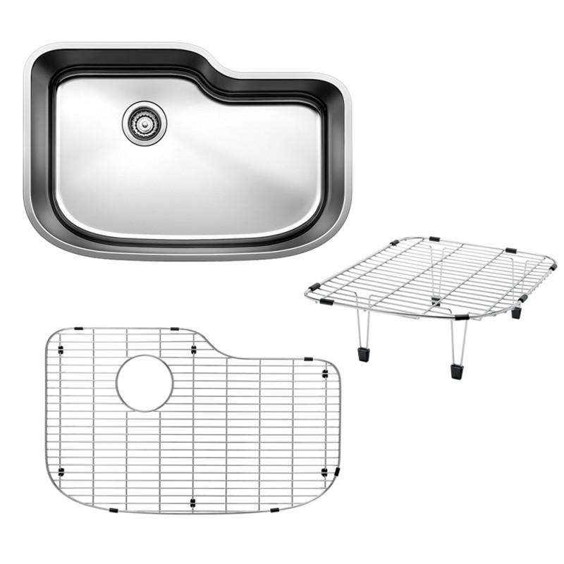 Blanco One 30-In X 20-In Single-Basin Undermount Kitchen Sink