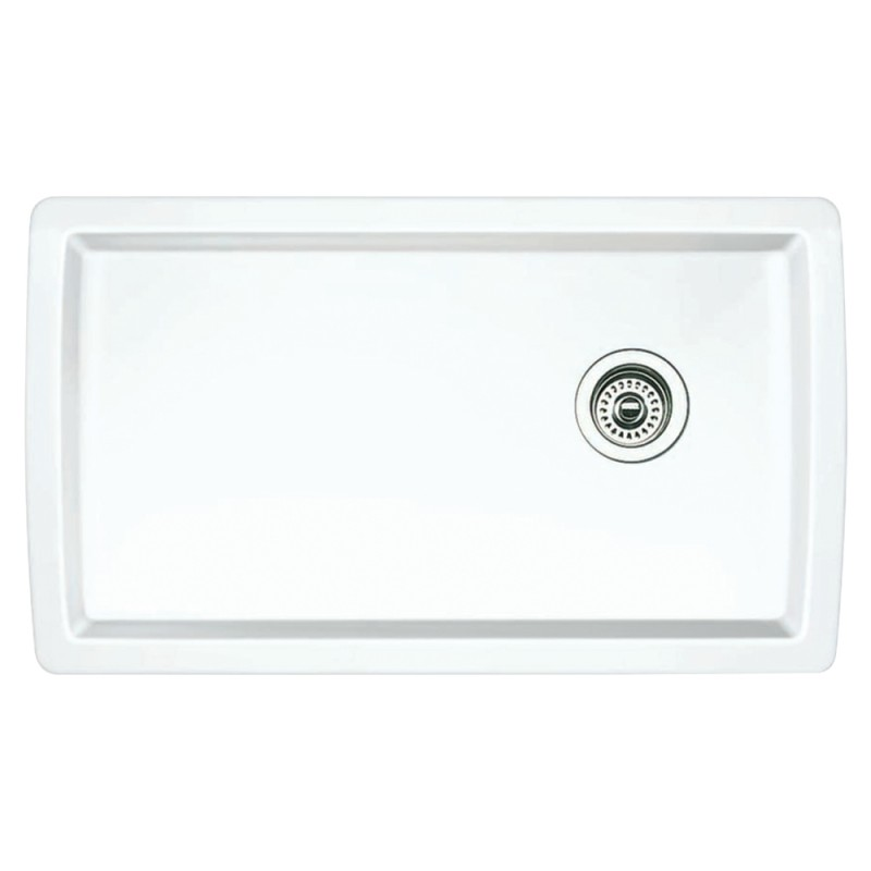 Blanco Diamond 18.5-In X 33.5-In Single-Basin Undermount Kitchen Sink