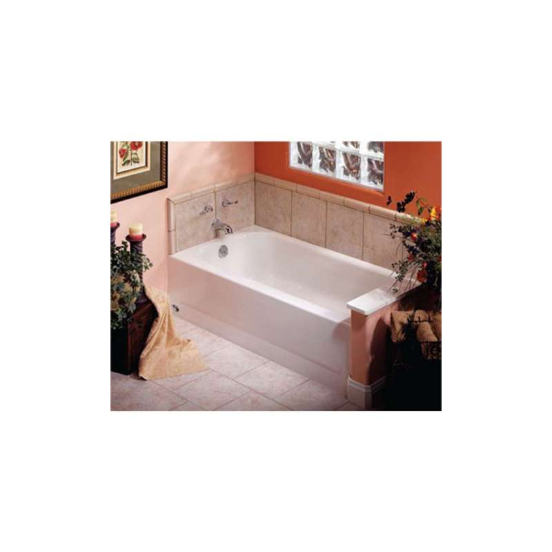 011-7200-00 - Bootz BootzCast 5ft Soaking Bathtub with Right Hand Drain