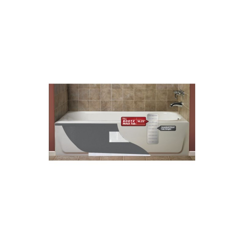 011-3341-00 - Bootz Maui 5ft Soaking Bathtub with Left Hand Drain
