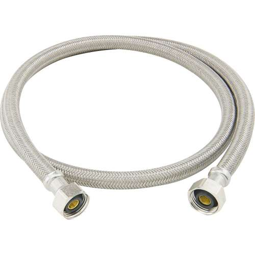 1/2 in. FIP x 1/2 in. FIP Braided Polymer Connector